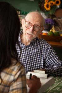 Image of Caregiver, senior, dad