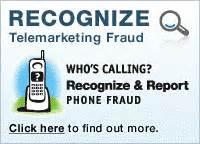 Telemarketing Scam Alert Image