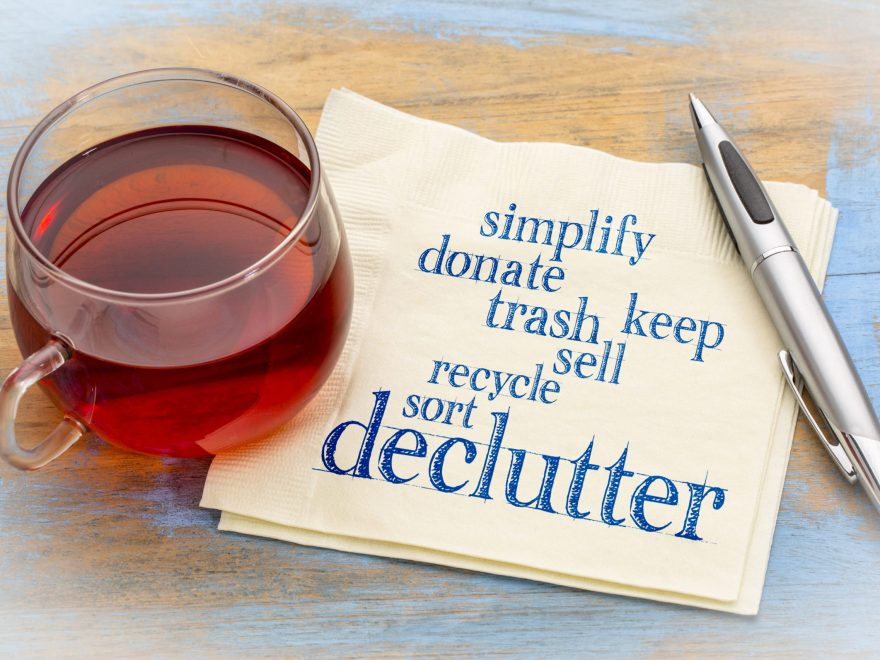 7 Tips to Declutter Mom and Dad's House Image on NWISeniors.com