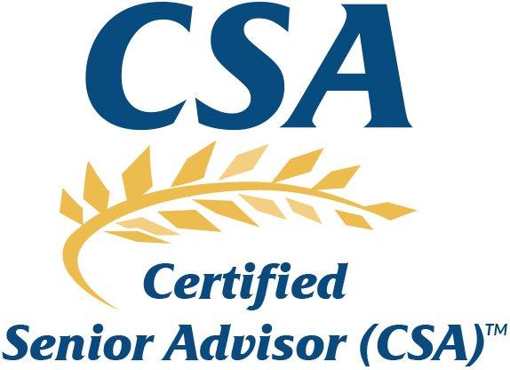 Certified Senior Advisor Logo Image