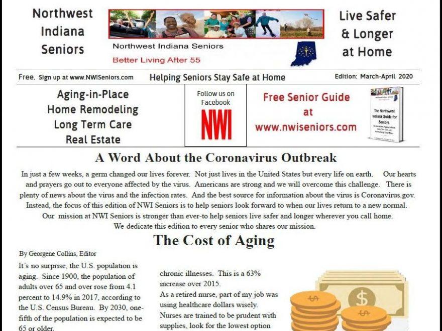 NWI Seniors Newspaper Mar-Apr 2020 edition image